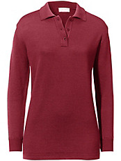 Peter Hahn - Polo-Pullover Modell ISOLDE aus Pure Tasmania Wool