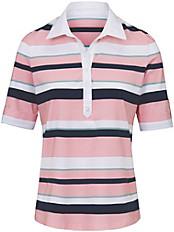 Peter Hahn - Polo-Shirt mit 1/2-Arm zum Umschlagen