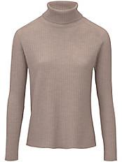 Peter Hahn - Rollkragen-Pullover aus 100% Schurwolle-Merino