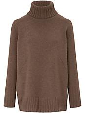 Peter Hahn - Rollkragen-Pullover aus 100% Schurwolle-Softwool