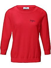 Peter Hahn - Rundhals-Pullover aus 100% PIMA-Baumwolle