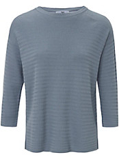 Peter Hahn - Rundhals-Pullover in 2-in-1-Optik