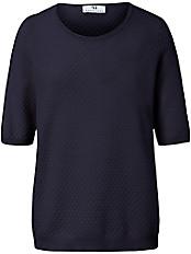 Peter Hahn - Rundhals-Pullover mit ellenbogenlangem 1/2-Arm