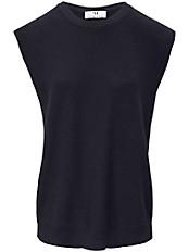 Peter Hahn - Rundhals-Pullover mit überschnittener Schulter