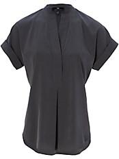 Peter Hahn - Shirt-Bluse mit Rundhals-Ausschnitt