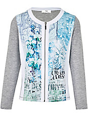 Peter Hahn - Shirt-Jacke mit 3/4-Arm