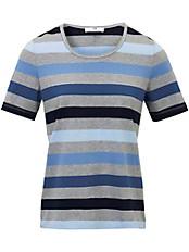 Peter Hahn - Shirt mit 1/2-Arm und Blockstreifen
