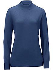 Peter Hahn - Stehbund-Pullover aus Seide mit Kaschmir