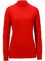Peter Hahn - Stehbund-Pullover aus Seide mit Kaschmir SABRINA