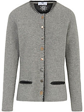 Peter Hahn - Strickjacke aus 100% Lambswool mit 1/1 Arm