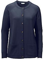 Peter Hahn - Strickjacke aus 100%Schurwolle Pure Tasmanian Wool