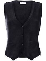 Peter Hahn - Strickweste Modell CONNY aus 100%Schurwolle-Merino