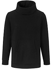 Peter Hahn - Sweatshirt mit halsfernen Rollkragen