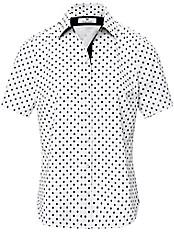 Peter Hahn - Tupfen-Bluse mit 1/2-Arm