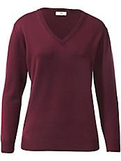 Peter Hahn - V-Pullover aus 100%Schurwolle Pure Tasmanian Wool