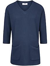 Peter Hahn - V-Pullover mit 3/4-Arm
