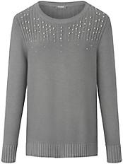 Rabe - Rundhals-Pullover mit schönem Schimmer