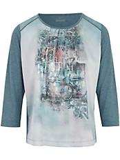 Rabe - Shirt mit feinen Zierperlen an der Raglannaht