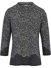 Rabe - Stehkragen-Pullover mit 3/4-Arm
