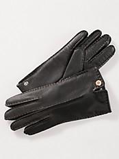 Roeckl - Handschuh 100% Leder mit wärmenden Futter