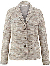 Rössler Selection - Jersey-Blazer mit Reverskragen