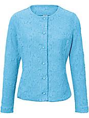 Rössler Selection - Jersey-Jacke mit Rundhals-Ausschnitt