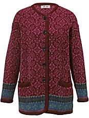 SAGA - Lange Jacke in 100% Schurwolle