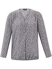 Samoon - Blusen-Shirt mit V-Ausschnitt
