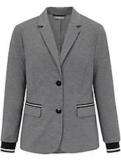 Samoon - Jersey-Blazer mit Reverskragen