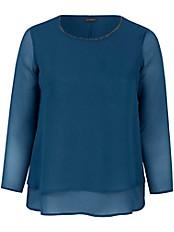 Samoon - Schlupf-Bluse mit Rundhals-Ausschnitt