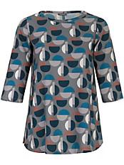 Samoon - Schlupf-Bluse mit seitlichen Schlitzen