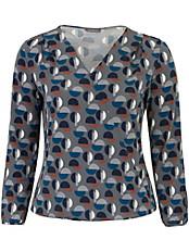 Samoon - Shirt in Wickel-Optik