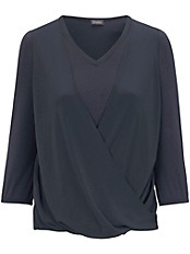 Samoon - Shirt mit V-Ausschnitt