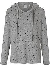 Solo per Me - Sternchen-Pullover mit Kapuze