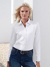 van Laack - Bluse mit Hemdkragen
