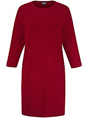 Via Appia Due - Knitterarmes Jersey-Kleid mit 3/4-Arm