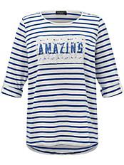 Via Appia Due - Shirt mit 1/1-Arm zum Hochkrempeln