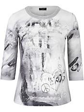 Via Appia Due - Shirt mit Rundhals-Ausschnitt