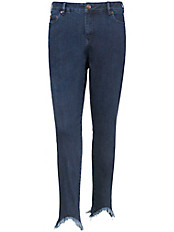 zizzi - 5-Pocket-Jeans im Used-Look