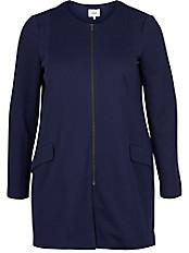 zizzi - Jacke mit Rundhals-Ausschnitt