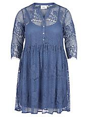 zizzi - Kleid mit 3/4-Arm