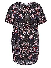 zizzi - Kleid mit fazinierendem Print