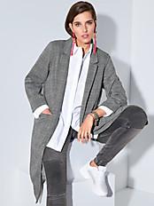 zizzi - Long-Jacke mit Reverskragen