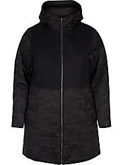 zizzi - Outdoor-Jacke mit Kapuze