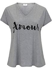 zizzi - V-Shirt mit kurzem 1/2-Arm