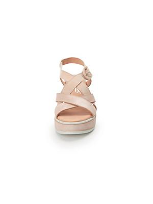 Softwaves - Sandale aus 100% Leder